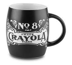Cool Mugs Canada Deep Etch Barrel Mug Crayola