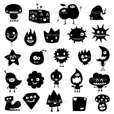 halloween monster window silhouettes siluetas graciosas buscar con google siluetas estampar