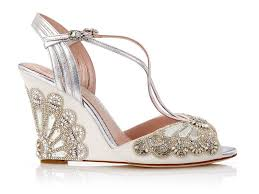 silver wedding shoes wedges 42 best wedding wedges you can buy now
