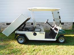 2013 club car turf 2 gas power dump bed canopy top with fold