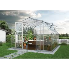 Hobby Greenhouses Palram Snap U0026 Grow 8 X 12 Ft Greenhouse Hayneedle