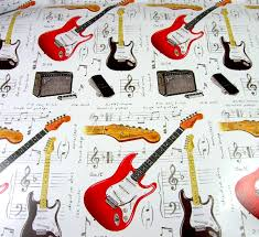 themed wrapping paper fender guitar wrapping paper gift wrap musical gifts online