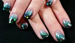 green acrylic nail designs gallery nail art designs