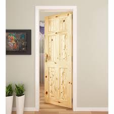 Pine 6 Panel Interior Doors Louver Panel Doors Colonial Panel Doors