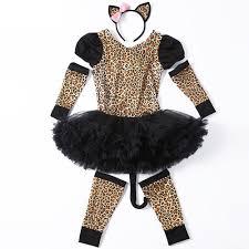 Leopard Halloween Costumes Girls Buy Wholesale Leopard Costumes Kids China Leopard