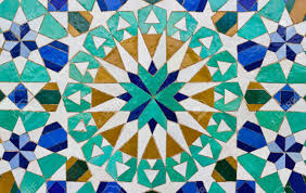 Morocco Design by Ceramic Tile With East Pattern Stock Photo Picture And Royalty