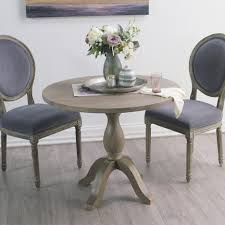 Round Rustic Dining Table Dining Tables Rustic Dining Table Set Weathered Grey Dining