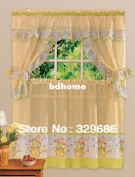 discount kitchen window curtain sets 2017 kitchen window curtain