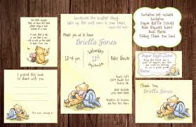 winnie the pooh baby shower favors printable winnie the pooh baby shower story book baby shower