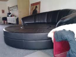 rund sofa ledersofa rund schwarzes echtleder ankum markt de