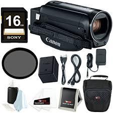 amazon black friday camcorder amazon com canon vixia hf r800 camcorder black 16gb sdhc card
