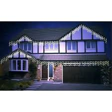 snowing icicle outdoor lights premier 360 led outdoor snowing icicle lights blue best of purple