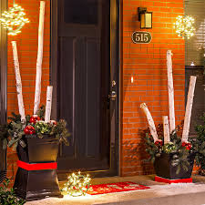 Outdoor Christmas Decorations Ideas Porch by Christmas Planter Ideas