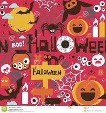 halloween seamless print stock photography image 34984462