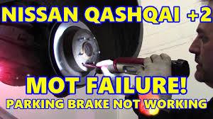 nissan qashqai near me nissan qashqai parking brake mot failure handbrake cable