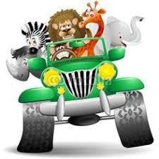 safari jeep front clipart cartoon safari jeep premium transportes carro de safari verde