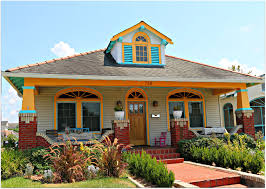 new orleans style home plans new orleans homes and neighborhoods craftsman colorful home on