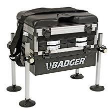 panier siege badger panier siège de pêche 5 tiroirs amazon fr sports et loisirs