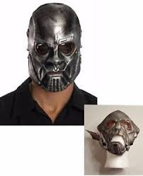 Metal Halloween Costumes Sid Wilson Mask Slipknot Heavy Metal Halloween Costume Accessory