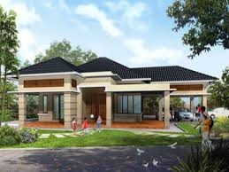 One Floor House by Home Design Single Floor 4 Bedroom House Plans In Kerala