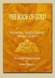how to paint with 24 carat shell gold anita chowdry