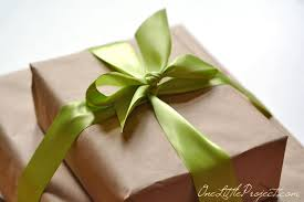 Tissue Paper Gift Wrap - gift wrapping with tissue paper flowers