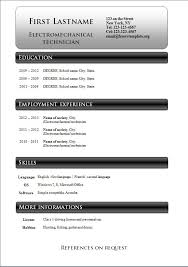 free cv templates 233 to 239 u2013 free cv template dot org