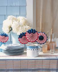 Fourth Of July Tablecloths by 4th Of July Decorations Show Your Red White And Blue Martha