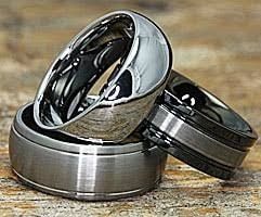 Mens Tungsten Wedding Rings by Mens Tungsten Wedding Bands Low Prices High Quality