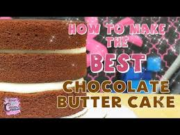 best chocolate butter cake in the world cake recipe tutorial