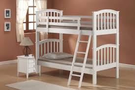 White Wooden Bunk Bed White Wood Bunk Beds Amazing 8 Donco Arch Stair