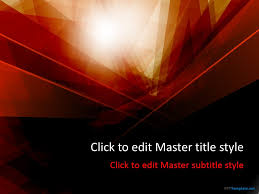 This Symbolic Theme Intensifies Emotions Free Dark Red Powerpoint Theme Ppt 2010