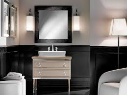 Painted Vanities Bathrooms Lutetia L12 Traditional Italian Art Deco Bathroom Vanity Beige Lacquer