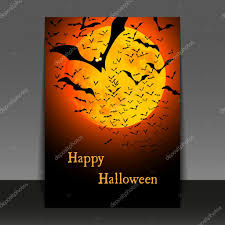 halloween abstract halloween flyer or cover design u2014 stock vector bagotaj 27713749