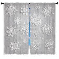 snowflake curtains curtain collections