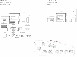 sqm to sqft the glades condo floor plan 2br suite b9 62 sqm 667 sqft b9