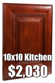 what does 10x10 cabinets rta cherry 10x10 kitchen cabinets