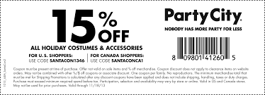 party city coupons u2013 10 off 50 order