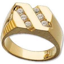 mens gold diamond rings men s diamond ring 14k diagonal gold men s ring 5 8 cts jbuu60656