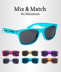 sunglasses wedding favors blue wedding favours metallic blue sunglasses free groom