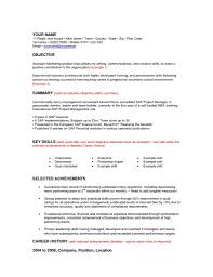 Cover Letter Volunteer Work Resume Objective In Cv In Impressive Objective For Resume Examples