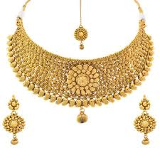 gold har set gold stylish necklace set sone ka har set prem jewellers