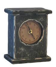 Wood Desk Clock Handmade Wooden Desk Mantel U0026 Shelf Clocks Ebay