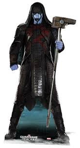 Guardians Galaxy Halloween Costumes Ronan Accuser Guardians Galaxy Lifesize Cardboard