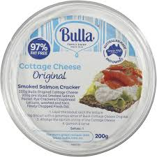 bulla low fat original cottage cheese 200g woolworths