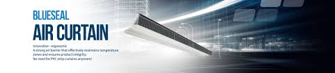air curtain innovation and ergonomics