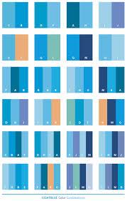 Color Scheme by Light Blue Color Schemes Color Combinations Color Palettes For