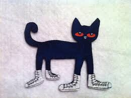 pete the cat i love my white shoes flannel felt board set