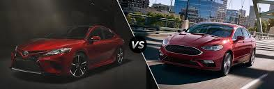 toyota prius vs ford fusion 2018 toyota camry vs 2017 ford fusion