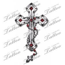collection of 25 rosary cross designs
